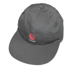 HELLRAZOR【 ヘルレイザー】OPENING LOGO 6PANEL CAP キャップ 帽子 ブラック