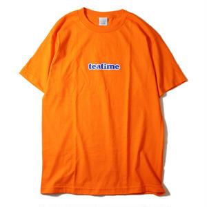 LUCKYWOOD【 ラッキーウッド】teatime TEE ORANGE Tシャツ オレンジ