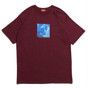 HELLRAZOR【 ヘルレイザー】 LIBRA SHIRT - BURGUNDY  Tシャツ バーガンディ