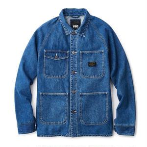 FTC【 エフティーシー】Denim Chore Jacket Wash ストライプ ウォッシュ デニム ジャケット