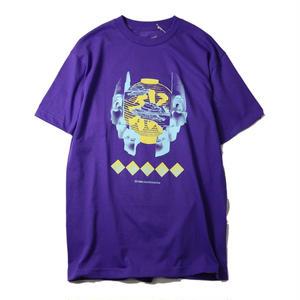 EVISEN【 えびせん】SUSHI FACE TIME PURPLE  Tシャツ パープル