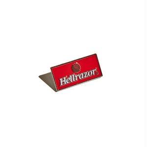 HELLRAZOR【 ヘルレイザー】STrademark Logo Pin - Red ピンバッチ ピンズ