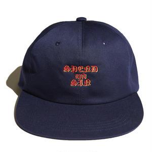 HELLRAZOR【 ヘルレイザー】SPEND AND SIN 6PANEL CAP NAVY キャップ 帽子 ネイビー