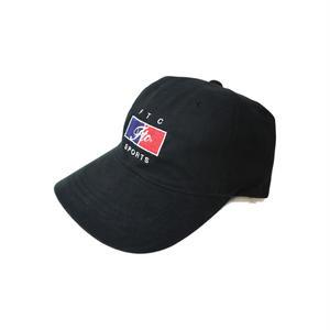 限定 SPOTITEM FTC【 エフティーシー】SPORTS 6 PANEL CAP BLACK ブラック キャップ 帽子