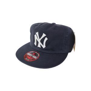 AMERICAN NEEDLE 【アメリカンニードル】BASIC RETRO   NEWYORK YANKEES CAP NAVY ヤンキース キャップ ネイビー