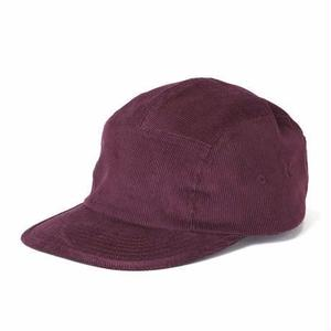 坩堝【 るつぼ】CITY BOY 5 PANEL CAP  BURGUNDY キャップ 帽子 バーガンディ