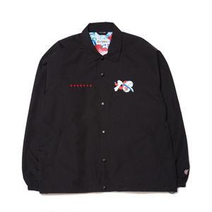 EVISEN【 えびせん】DOSU JKT BLACK コーチジャケット ブラック