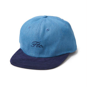 FTC【 エフティーシー】SCRIPT LOGO 6 PANEL  キャップ 帽子  ネイビー