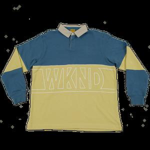 WKND【 ウィークエンド】WKND Rugby Shirt ラグビー シャツ