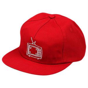 WKND【 ウィークエンド】TV Logo Snap Back Red スナップバック レッド