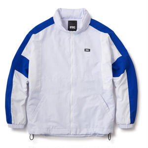 FTC【 エフティーシー】Color Blacked Nylon Track Jacket ナイロン ジャケット ホワイト