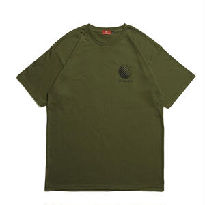 HELLRAZOR【 ヘルレイザー】 Logo Shirt - Olive Tシャツ オリーブ