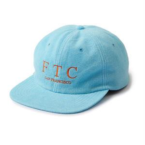 FTC【 エフティーシー】TERRY 6 PANEL BLUE CAP キャップ 帽子  ブルー