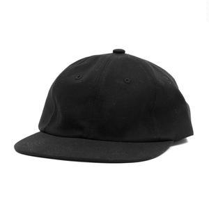 HOTELBLUE【 ホテルブルー】SIDE LOGO HAT BLACK CAP キャップ ブラック