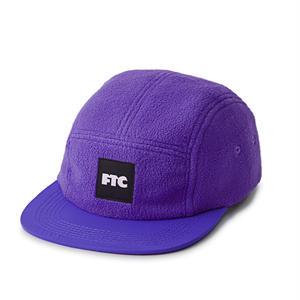FTC【 エフティーシー】POLAR FLEECE CAMP CAP キャップ 帽子 パープル