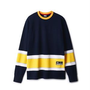 FTC【 エフティーシー】Blank Hockey jersey ホッケーシャツ ジャージ ネイビー