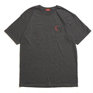 HELLRAZOR【 ヘルレイザー】 CARDS SHIRT - FREST CHARCOAL GREY  Tシャツ チャコールグレー