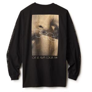 FTC【 エフティーシー】LOVE WILL L/S TEE BLACK ロンT  ブラック