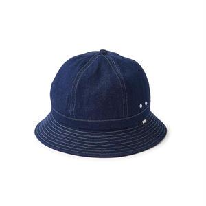 FTC【 エフティーシー】Denim Bell Hat デニム ベルハット ホワイト