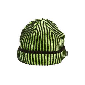 EVISEN【 えびせん】ACID KNIT CAP LIME ニット帽 ライム