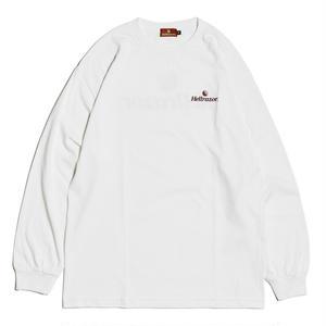 HELLRAZOR【 ヘルレイザー】TRADEMARK LOGO L/S SHIRT ロンT ホワイト