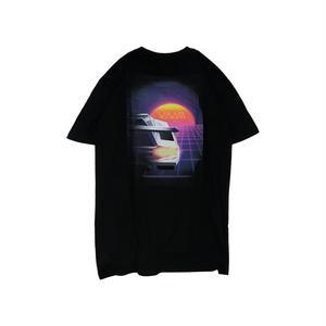Wayward Wheels【ウェイワードウィールス 】LOST LANE TEE BLACK Tシャツ ブラック