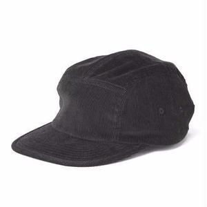 坩堝【 るつぼ】CITY BOY 5 PANEL CAP  BLACK キャップ 帽子 ブラック