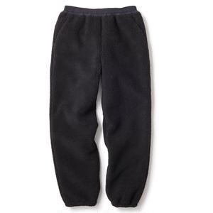FTC【 エフティーシー】SHERPA FLEECE PANT BLACK フリース パンツ ブラック