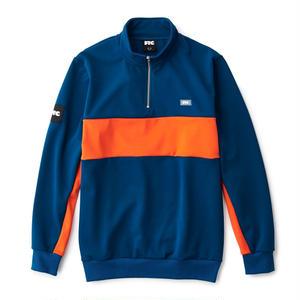 FTC【 エフティーシー】Half Zip Jersey ハーフジップジャージ ブルー
