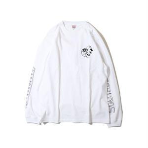SSSclub【サウスステーションスケーティングクラブ 】TAM L/S TEE WHITE  ホワイト