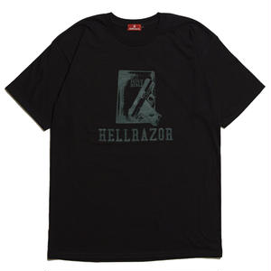 HELLRAZOR【 ヘルレイザー】 WAITING FOR A CALL SHIRT - FREST BLACK  Tシャツ ブラック