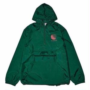HELLRAZOR【 ヘルレイザー】Logo Anolac Jacket green アノラック グリーン