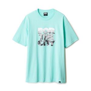 FTC【 エフティーシー】PARIS STACK TEE CELADON  Tシャツ セラドン