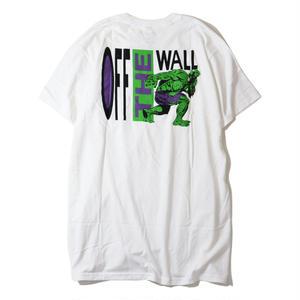 VANS【バンズ】 x MARVEL HULK TEE WHITE Tシャツ マーベル ハルク ホワイト