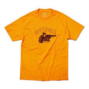 EVISEN【 えびせん】DIRTY EVI TARO TEE ORANGE スシ エビ Tシャツ オレンジ