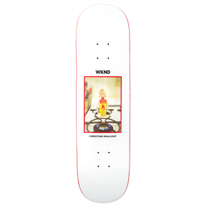 "WKND【 ウィークエンド】Doll Parts Series- ""Flame Girl Maalouf"" Deck  デッキ 板 8.25インチ"