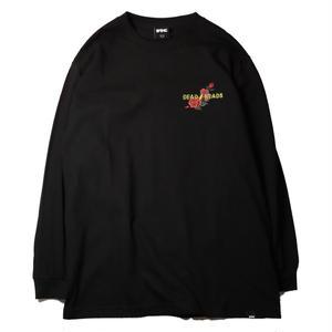 FTC【 エフティーシー】x GRATEFUL DEAD L/S TEE CAROLINA BLACK ロンT  ブラック