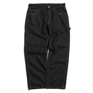 HELLRAZOR【 ヘルレイザー】 PLATINUM PAINTER DENIM PANTS  BLACK デニムパンツ ブラック