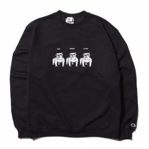 HELLRAZOR【 ヘルレイザー】Never Change Til We Die Crewneck Sweater Blackトレーナー クルーネック  ブラック