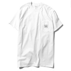 LUCKYWOOD【 ラッキーウッド】BASIC POCKET TEE  ポケット Tシャツ ホワイト