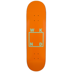 WKND【 ウィークエンド】Orange/Mint Logo Board  デッキ 板 8インチ