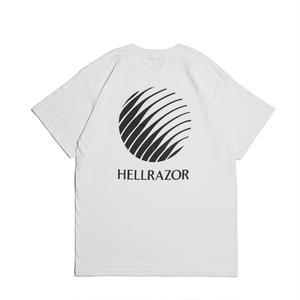 HELLRAZOR【 ヘルレイザー】 Logo Shirt - White Tシャツ ホワイト
