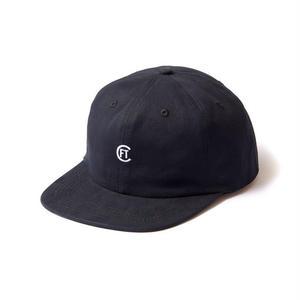FTC【 エフティーシー】CLASSIC LOGO 6 PANEL BLACK  キャップ 帽子 ブラック