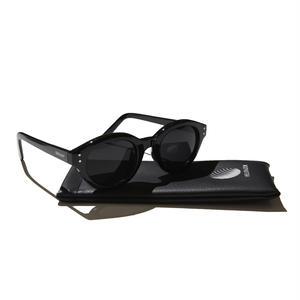 HELLRAZOR【 ヘルレイザー】Monk Sunglasses - Black/Smoke サングラス ブラック