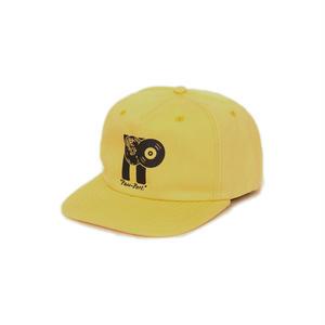 "PASS~PORT【 パスポート】PASS~PORT ""PP WORLD RECORDS"" CAP YELLOW キャップ 帽子 イエロー"