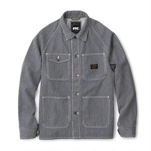 FTC【 エフティーシー】Denim Chore Jacket Stripe ストライプ ヒッコリー ジャケット