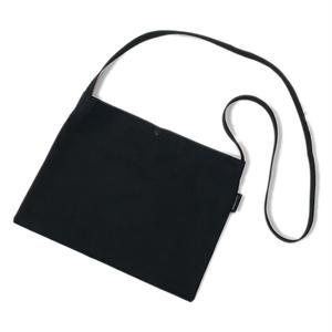 LUCKYWOOD【 ラッキーウッド】Simple Musette BLACK シンプル ミュゼット サコッシュ ブラック