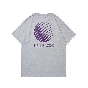 再再入荷!!! HELLRAZOR【 ヘルレイザー】Logo Shirt Heather Grey Tシャツ グレー