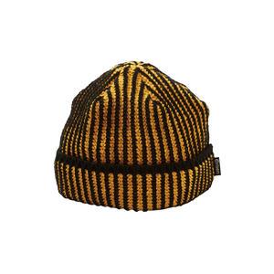 EVISEN【 えびせん】ACID KNIT CAP  DK ORANGE  ニット帽 ダークオレンジ