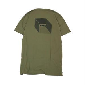 WKND【 ウィークエンド】CUBE  MILITARYT  Tシャツ ミリタリー